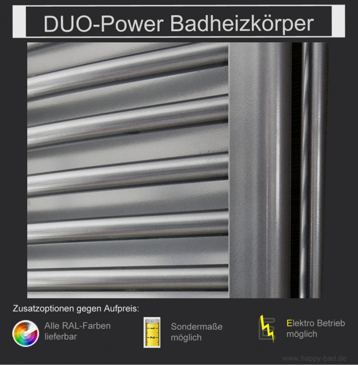 Duo Power Badheizkörper